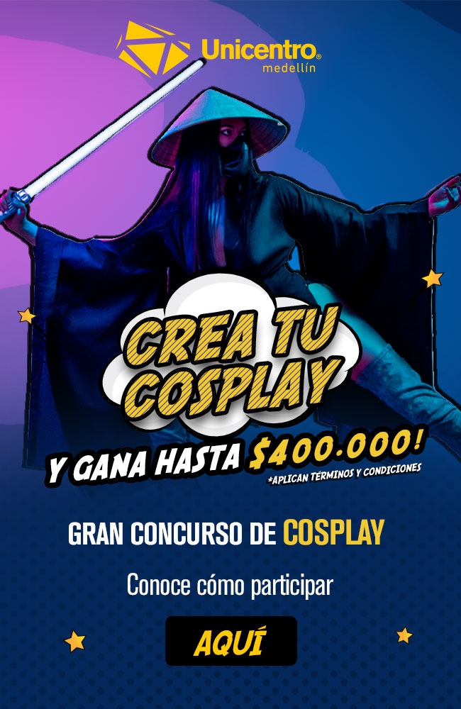 BANNER Cosplay SITIO WEB UNICENTRO MOBILE