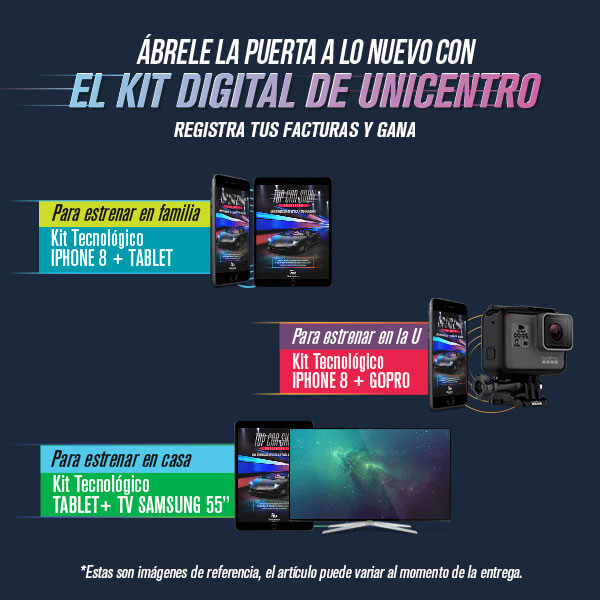 El kit digital de Unicentro